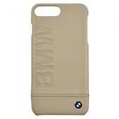 Накладка BMW Signature Hard Logo imprint для iPhone 7 Plus / 8 Plus - Taupe