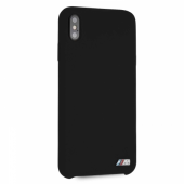 Накладка BMW M-Collection Liquid Silicone Hard для iPhone XS Max - Black