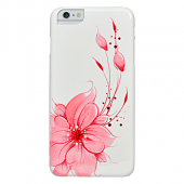 Накладка iCover Hand Printing для iPhone 6 Plus / 6s Plus - Flower Pink