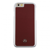 Накладка Mercedes Metallic Plate Hard для iPhone 6 / 6s - Red