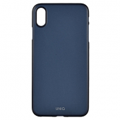 Накладка Uniq Bodycon для iPhone XS Max - Navy Blue
