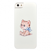 Накладка iCover Cats Comics 32 для iPhone 5 / 5s / SE - White