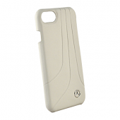 Накладка Mercedes Bow II Hard Leather для iPhone 8 / 7 / 6s / 6 - Grey