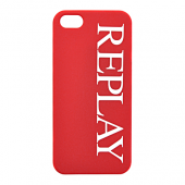 Накладка Replay Logo Hard для iPhone 5 / 5s / SE - Red