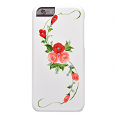 Накладка iCover Hand Printing для iPhone 6 / 6s - Vintage Rose\Pink
