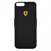 Накладка Ferrari Powercase Hard 4000 mAh Rubber для iPhone 8 Plus / 7 Plus / 6s Plus / 6 Plus - Black