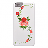 Накладка iCover Hand Printing для iPhone 6 Plus / 6s Plus - Vintage Rose\Pink