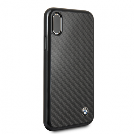 Накладка BMW Signature Real Carbon Hard для iPhone XS Max - Black
