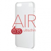 Накладка Artske Air Soft Case для iPhone 5 / 5s / SE - White