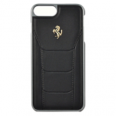Накладка Ferrari 488 Gold Hard для iPhone 7 Plus / 8 Plus - Black