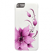Накладка iCover Hand Printing для iPhone 6 / 6s - Flower Purple