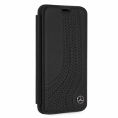 Чехол Mercedes New Bow ll Booktype Leather для iPhone XS Max - Black