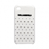 Накладка Karl Lagerfeld Trendy Hard для iPhone 4/4s - White