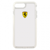 Накладка Ferrari Shockproof Hard для iPhone 7 Plus / 8 Plus - Transparent
