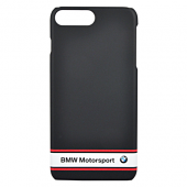 Накладка BMW Motorsport Hard Rubber для iPhone 7 Plus / 8 Plus - Navy Blue