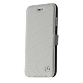 Чехол Mercedes Organic Booktype Leather для iPhone 6 / 6s - Grey