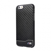 Накладка BMW M-Collection Hard Aluminum & Carbon для iPhone 6 / 6s - Black