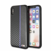 Накладка BMW M-Collection Carbon inspiration для iPhone X / XS - Black/Navy