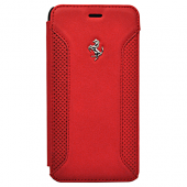 Чехол Ferrari F12 Booktype для iPhone 6 Plus / 6s Plus - Red
