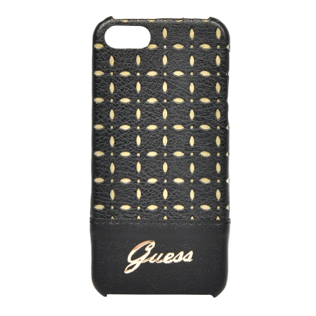 Накладка Guess Gianina Hard для iPhone 5 / 5s / SE - Black
