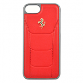 Накладка Ferrari 488 Gold Hard для iPhone 7 / 8 - Red