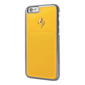Накладка Ferrari GT Berlinetta Gold Hard для iPhone 6 / 6s - Yellow