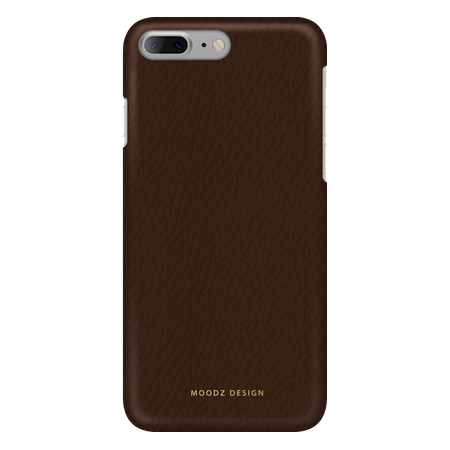 Накладка Moodz Floter Leather Hard для iPhone 7 Plus / 8 Plus - Chocolate