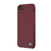 Накладка BMW Signature Liquid Silicone Hard для iPhone 8 / 7 - Red