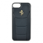 Накладка Ferrari 488 Gold Hard для iPhone 7 / 8 - Black