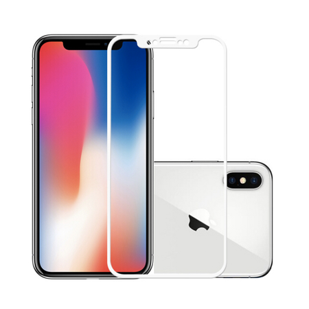 Защитное стекло GOLDSPIN 3D Tempered Glass 0.33 mm для iPhone X / XS - White