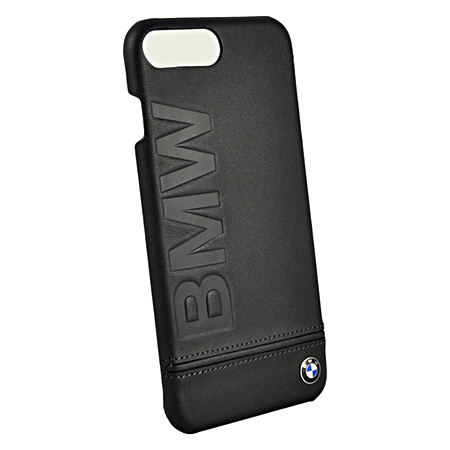 Накладка BMW Signature Hard Logo imprint для iPhone 7 Plus / 8 Plus - Black