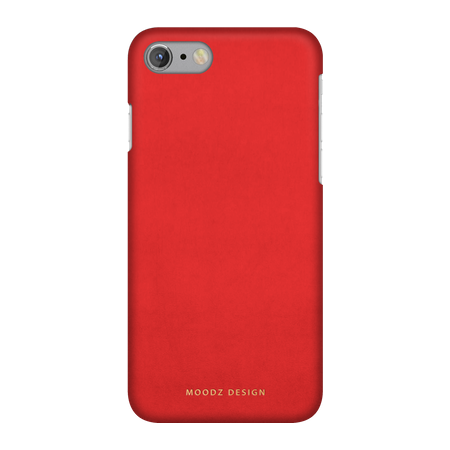Накладка Moodz Nubuck Hard для iPhone 7 / 8 - Rossa