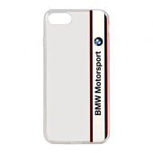 Накладка BMW Motorsport Transparent Hard TPU для iPhone 7 / 8 - White