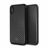 Накладка Mercedes Dynamic Real Carbon Hard для iPhone X / XS - Black