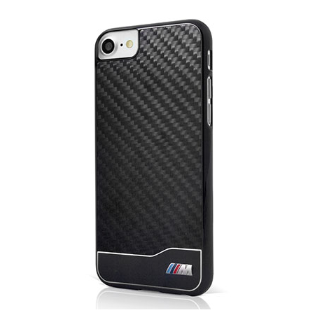 Накладка BMW M-Collection Hard Aluminum & Carbon для iPhone 8 / 7 - Black