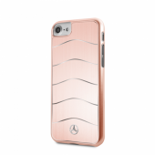 Накладка Mercedes Wave Vlll Hard Brushed Aluminium для iPhone 8 / 7 - Rose Gold