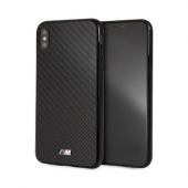 Накладка BMW M-Collection Real Carbon Inspiration Hard для iPhone XS Max - Black