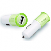 Автозарядка Yoobao для iPhone USB - Green