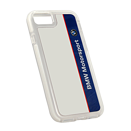 Накладка BMW Motorsport Shockproof Hard для iPhone 7 / 8 - Navy/White