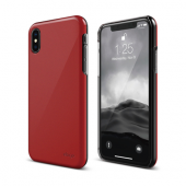 Накладка Elago Slim Fit 2 Hard для iPhone X / XS - Red