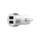 Автозарядка LAB.C Dual USB Car Charger A.L. 3.4A - Silver