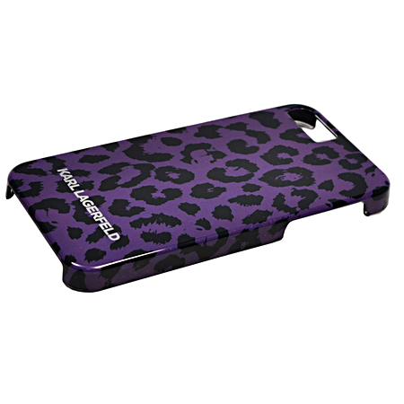 Накладка Karl Lagerfeld Camouflage Hard для iPhone 5/5s - Leopard Pur