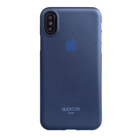 Накладка Uniq Bodycon для iPhone X - Navy Blue