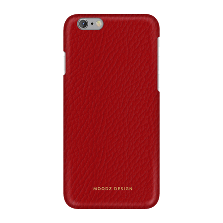 Накладка Moodz Floter Leather Hard для iPhone 6 / 6s - Rossa