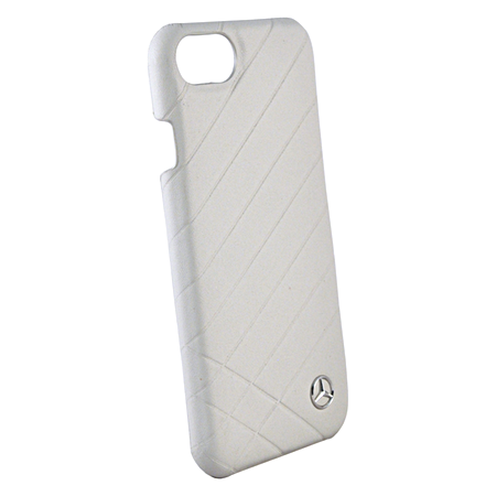 Накладка Mercedes Pattern ll Hard Leather для iPhone 8 / 7 / 6s / 6 - Grey