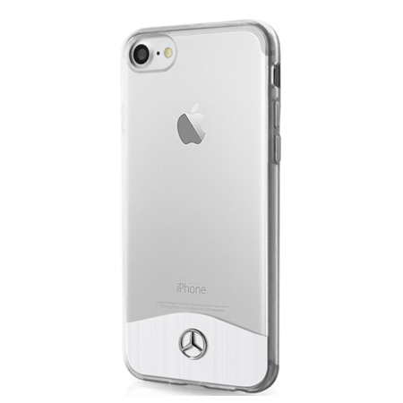 Накладка Mercedes Wave lX Hard TPU & Aluminium для iPhone 8 / 7 - Transparent