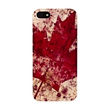 Накладка Fashion Case для iPhone 5/5s - Maple Leaf