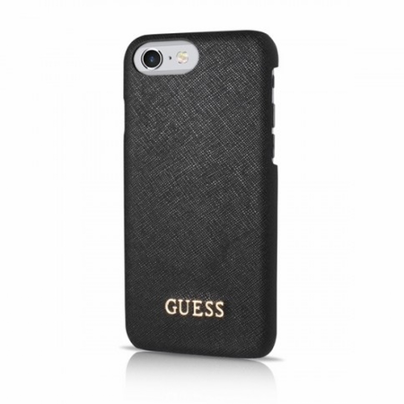 Накладка Guess Saffiano Look Hard PU для iPhone 7 / 8 - Black
