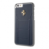 Накладка Ferrari 488 Gold Hard для iPhone 6 / 6s - Dark Blue