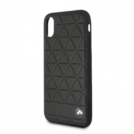 Накладка BMW Signature Embossed Hexagon Hard для iPhone X / XS - Black